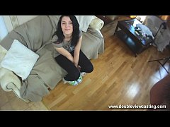DOUBLEVIEWCASTING.COM - GINA BLOWS A GUY SWEETL...