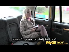 Fake Taxi Journalist gets exclusive fake news s...