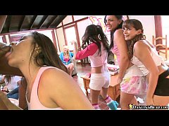 Sorority House Party with Strippers