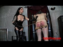 Very Hard Whipping By Two hot domes FemaleDomin...
