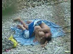 Voyeur sex on the beach video