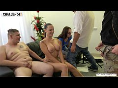 Full class of people see live fat boy's fail wi...