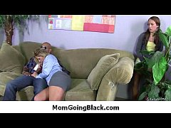 Hot Milf Mommy sucks and fucks a monster black ...