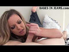 Let me give you a handjob in nothing but my jea...