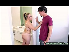 Beautiful MILF fucked by her stepson because hu...