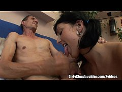 Stepdaughter Pleases Stepdaddy To Get What She ...