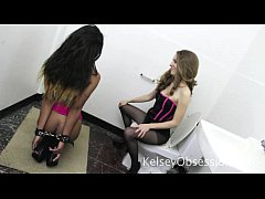 Interracial Toilet Fart Domination Evanni Solei