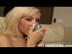 I want you to blow your load all over my chest JOI
