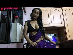 Sexy Indian Babe Lily seduces her daughter's boy friend roleplay