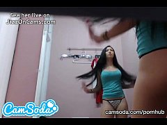 hot hidden camera dressing footage from camsoda