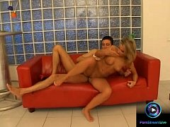 Couples Camile and Steve amazing fuck at the couch