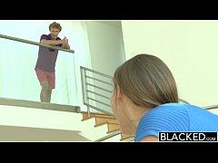 BLACKED Brunette Teen vs BBC