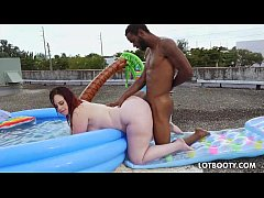 Big fat booty BBW Virgo Peridot and black cock