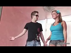 Step-Sister get fucked by German Step-Brother o...
