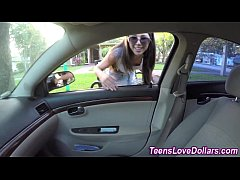 Reality teen cummed money