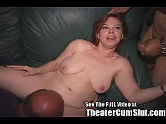 Kayce Puts On A Porn Theater Public Sex Show In...