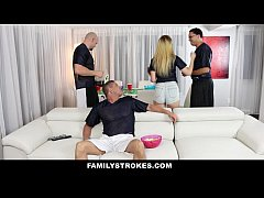 FamilyStrokes - Teens Fucks Pervy Uncle During ...