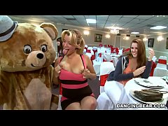 Big Dick Male Strippers and a Fluffy Dancing Be...