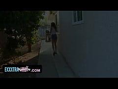 exxxtrasmall - caged teen fucks a big cock