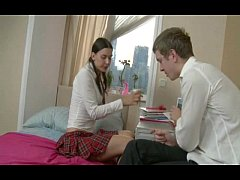 Russian Teen Begs For Rough Sex