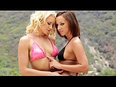 Anikka Albrite and Jada Stevens Try Anal