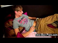 Gay XXX Connor Levi is one slender and sexy Bri...