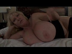 mature milf with huge melons bangs