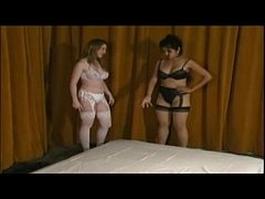 Mika tan lesbian wrestling