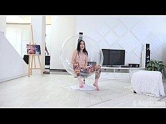 X-Angels.com - Amber Nevada - Long-Legged Brune...