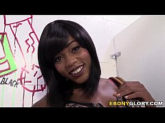 Ebony Karma May Gives Head Gloryhole