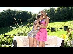 Garden Antics by Sapphic Erotica - lesbian love...