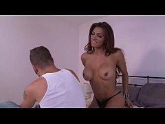 Busty tranny Jessy Dubai loves anal sex - Trans...
