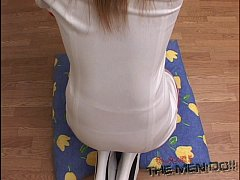 Lipdoll 4 3/4 Japanese blowjob bukkake uncensored