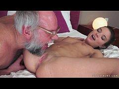 Anita Bellini Loves Grandpa Cock