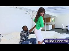 Elektra Rose and Syren Demer interracial 3some ...
