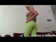 I love playing with my pussy in jeans JOI
