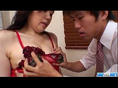 lingerie model yukari throats and fucks until exhaustion