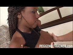 I will make your first interracial pegging sess...