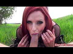 Canadian MILF Shanda Fay Finds A Pretty Place T...