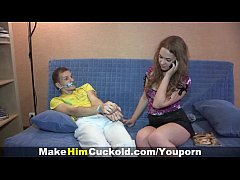 (TeensAndMilfs.BlogSpot.com) - Cuckold Dumb Cheater Punished In A Kinky Way