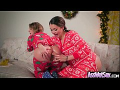 Big Ass Wet Oiled Girl (Allie Haze & Harley Jad...