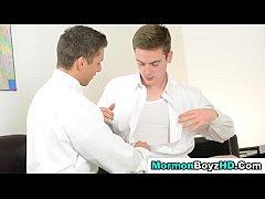 Mormon elder anoints ass