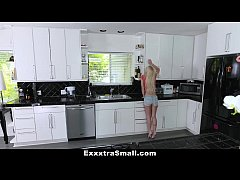 ExxxtraSmall - Petite Blonde Conned and Fucked By Salesman