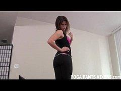 Yoga Pants Jerk Off Instruction Carmen Valentina