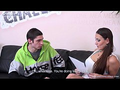 Melonechallenge Creampie from newcomer is alway...