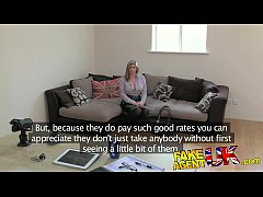 FakeAgentUK Brit girl gets spanked, fingered and fucked on casting couch