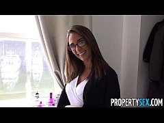 PropertySex - Boat captain bangs hot real estate agent in condo
