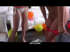 BFFS - Hot GF Surprises Her Man with Foursome