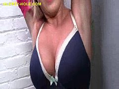 Blonde Enjoying Anonymous Black Cock
