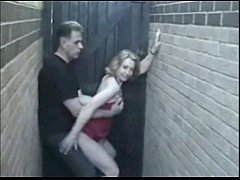 Amateur Sex In Alley